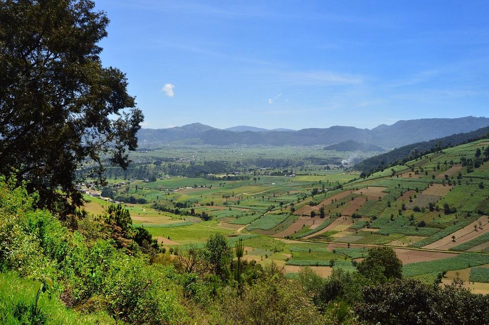 Quetzaltenango landschap rondreis Guatemala