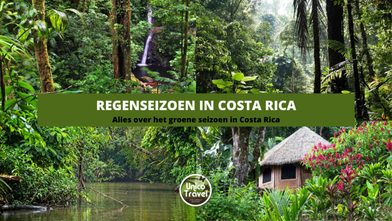 Regenseizoen Costa Rica