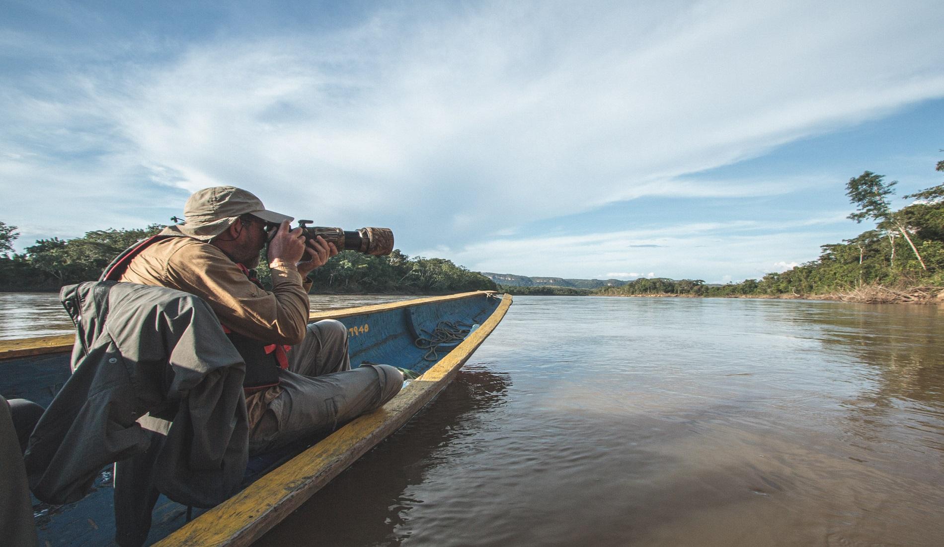 rivier safari fotoreis colombia