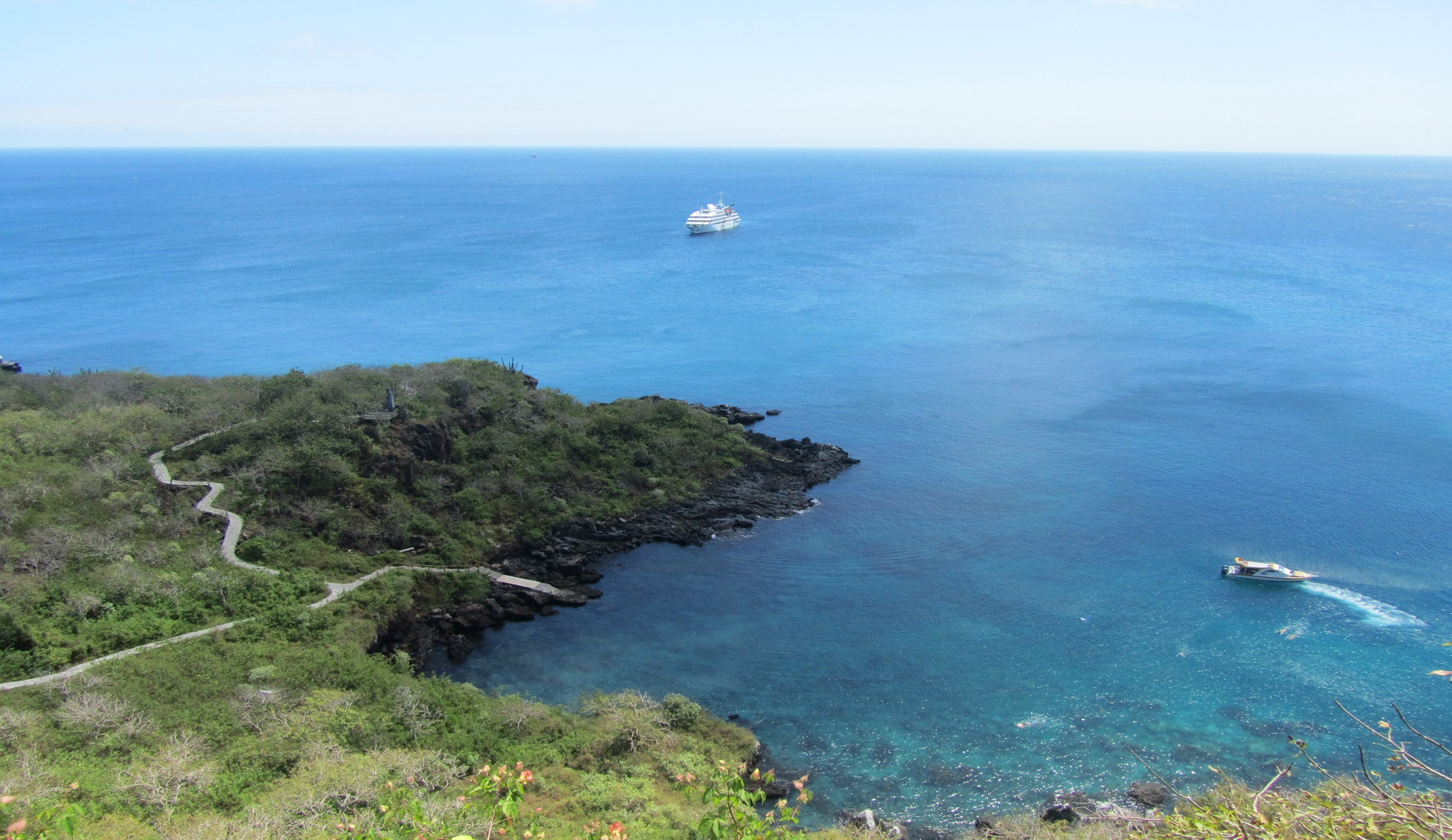 San Cristobal Frigatte Hill eilandhoppen galapagos eilanden