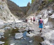 Wandeling bij kloof Somoto