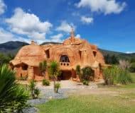 Villa de Leyva huis van klei