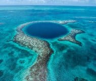The Great Blue Hole (fotocredits Belize Tourism Board)