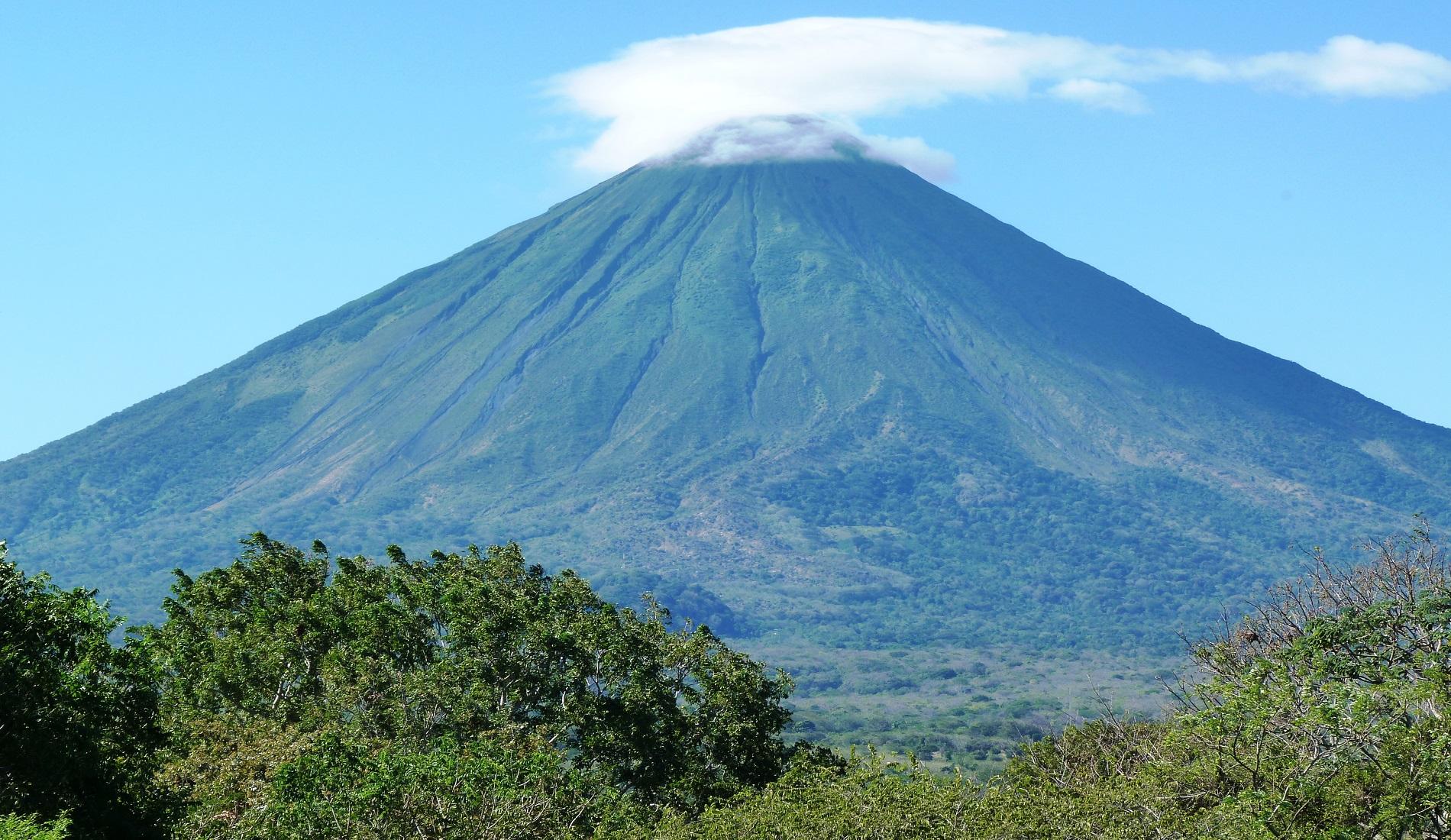 Vulkaan bij Isla de Ometepe