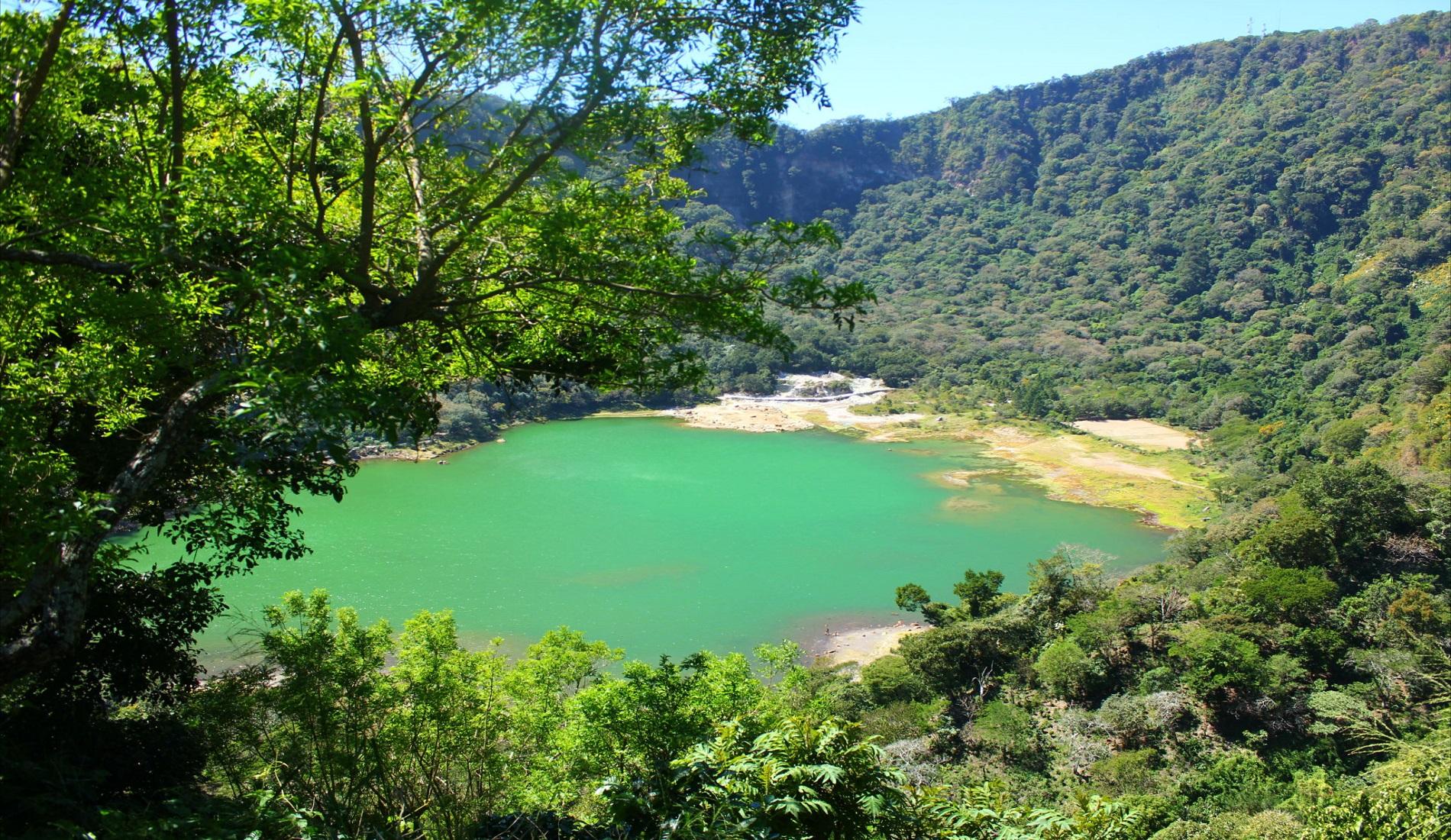 Lake Alegria El Salvador