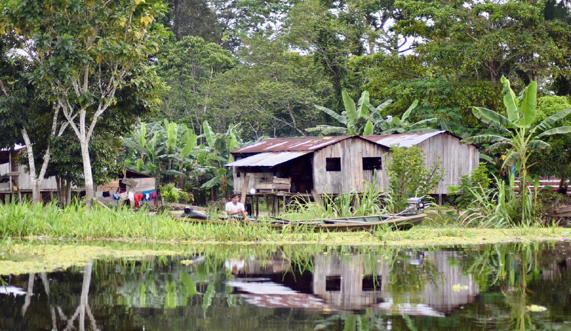 amazone colombia huizen