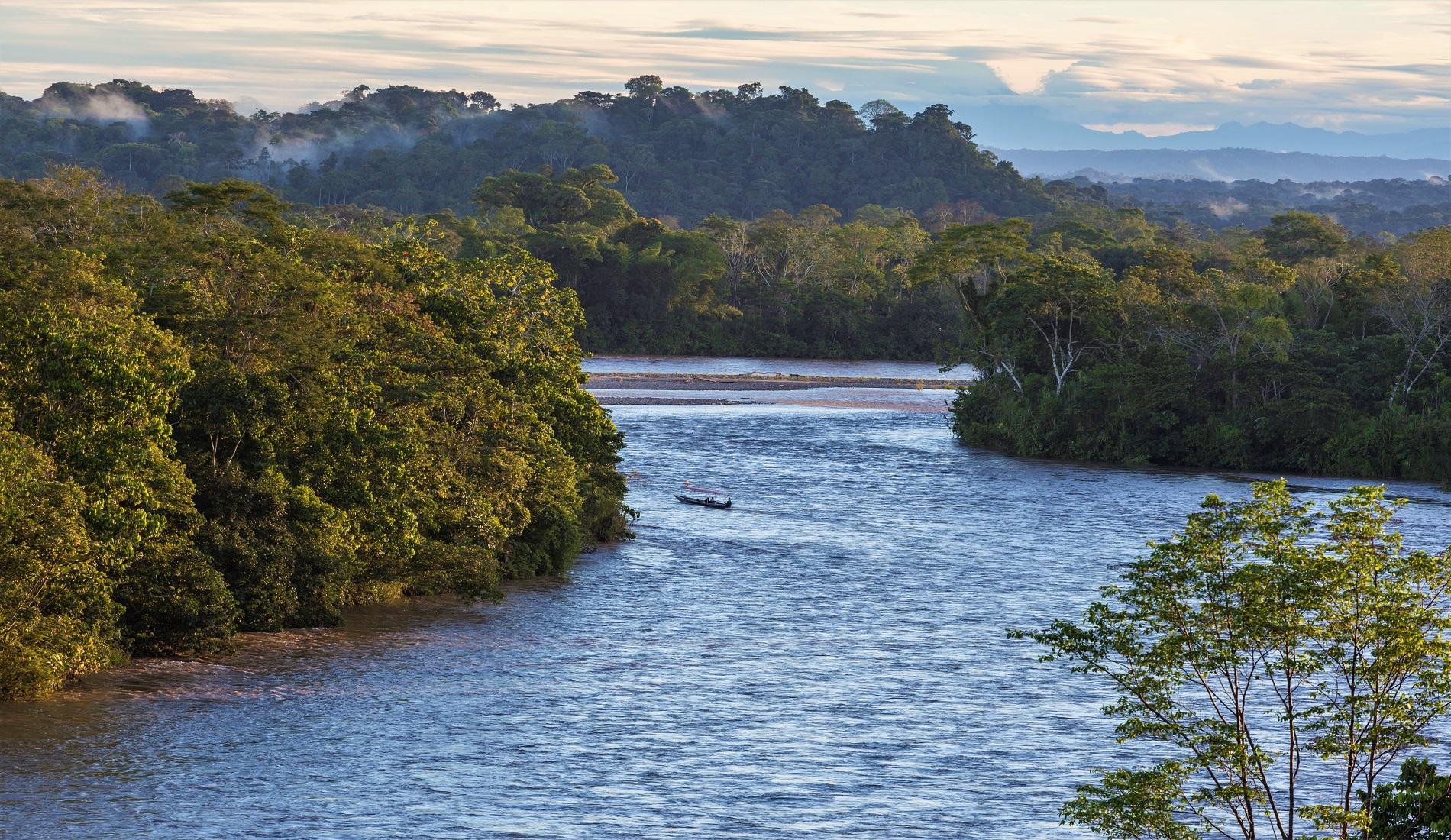 amazone napo ecuador reizen