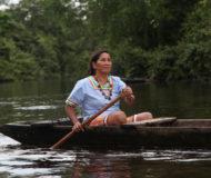 Amazone regenwoud local Ecuador