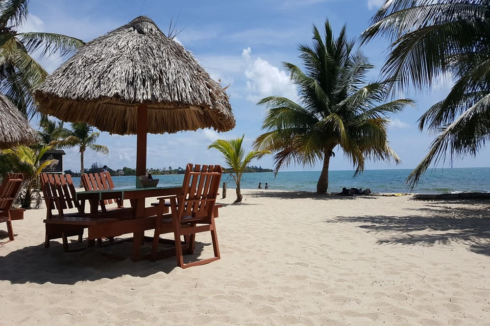 ambergris caye eiland belize