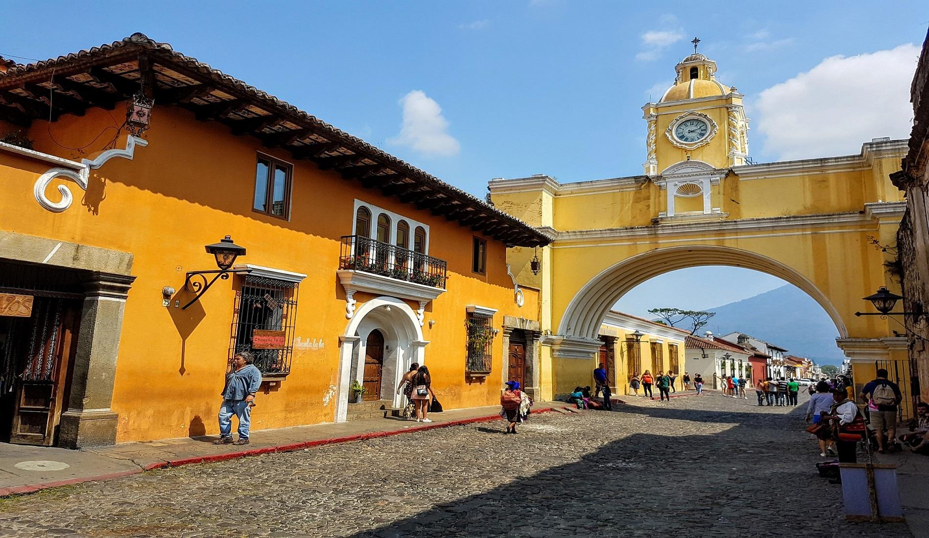 Antigua reis Guatemala Belize