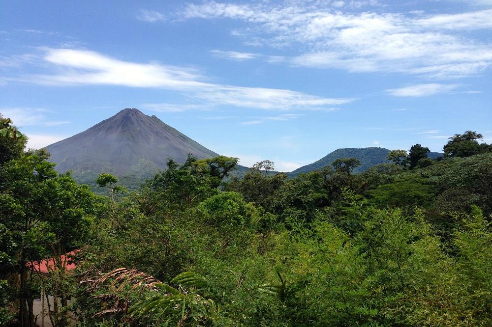 arenal vulkaan costa rica september reis
