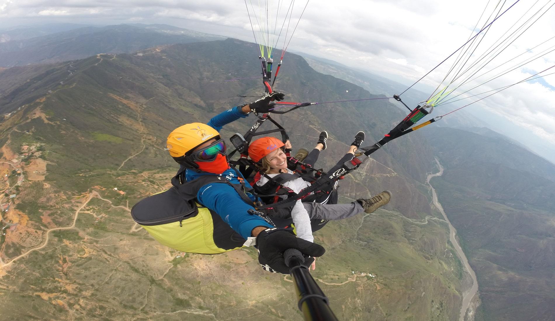 paragliden san gil