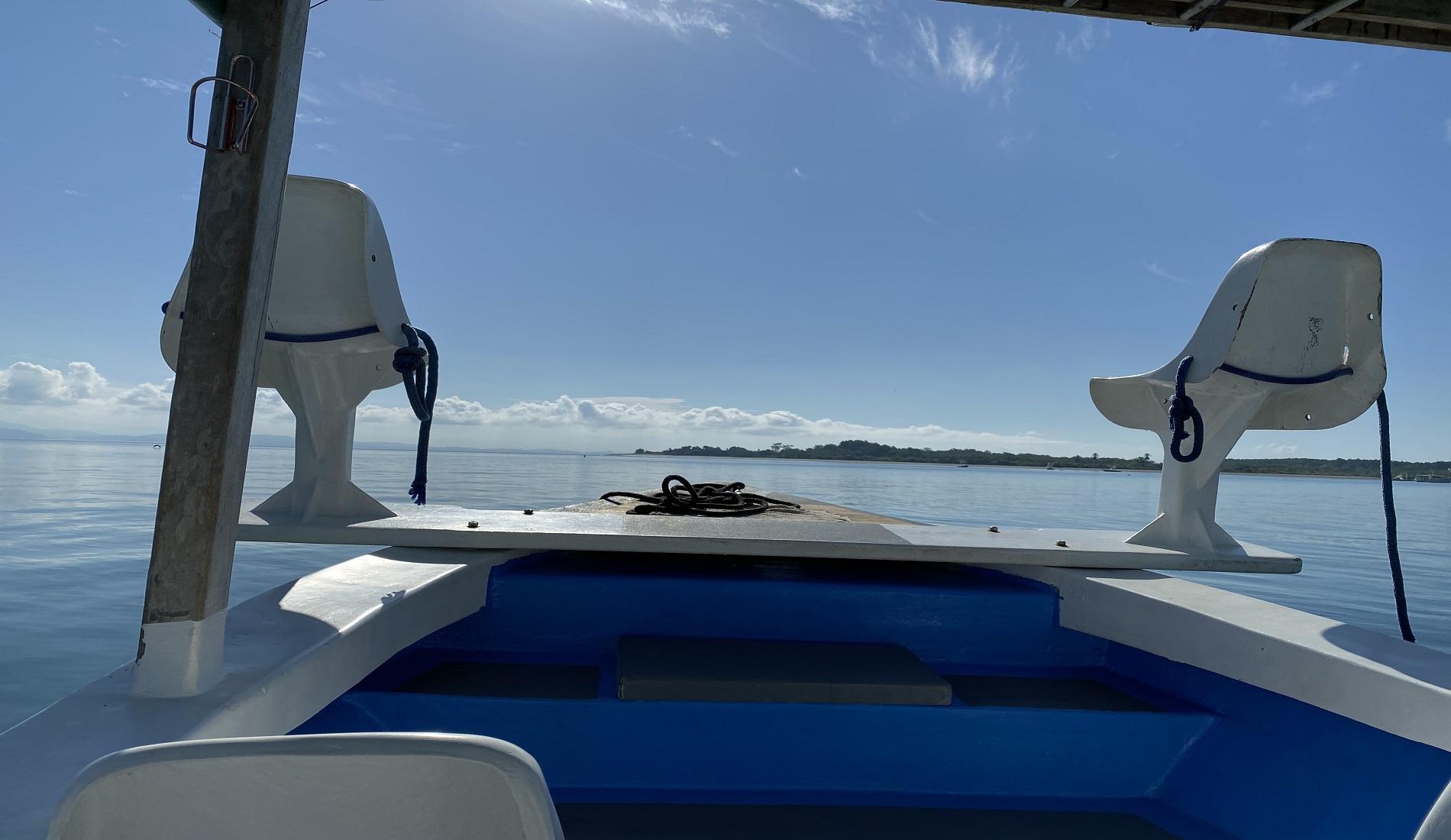 boot golfo dulce costa rica met kinderen