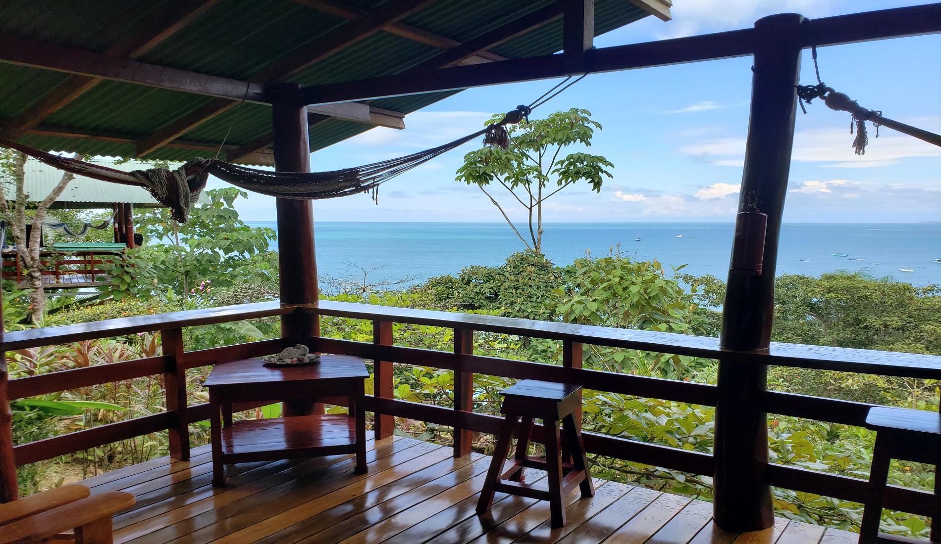 bungalow zeezicht drake bay