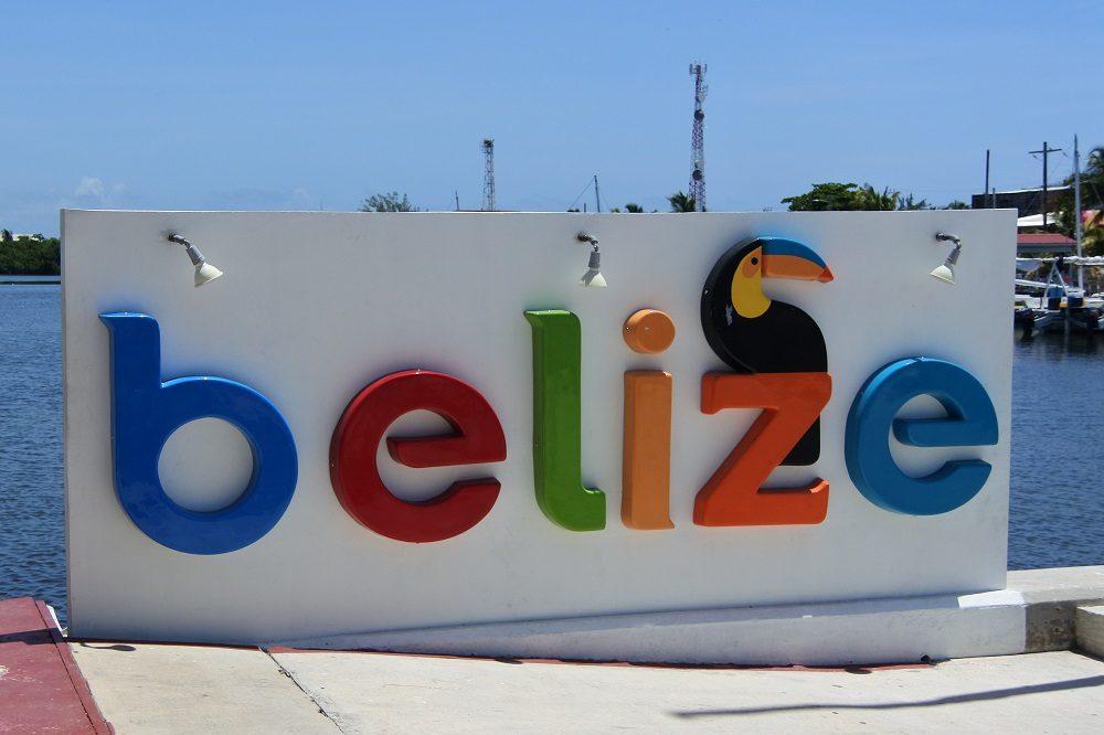 Aankomst in Belize