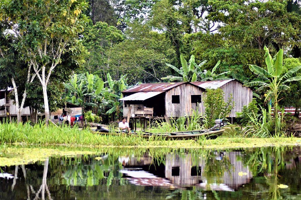 Amazone rivier huis