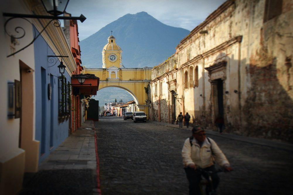 Antigua uitzicht