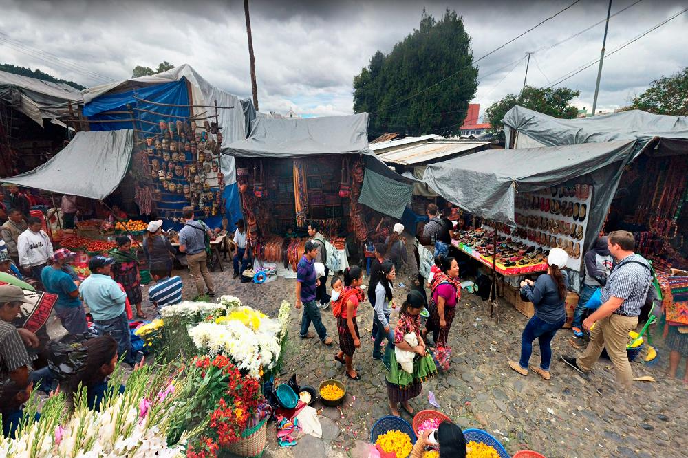 Authentiek Guatemala Chichicastenango