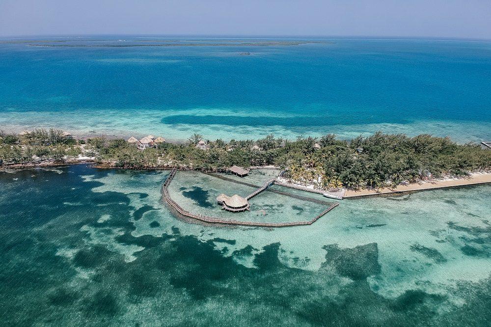 Belize thatch caye