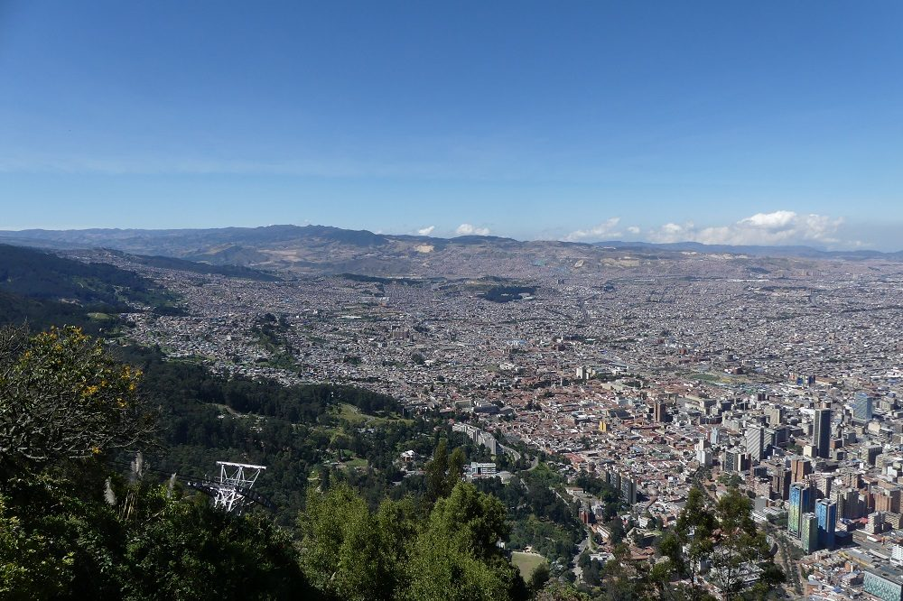 Bogota monserrate