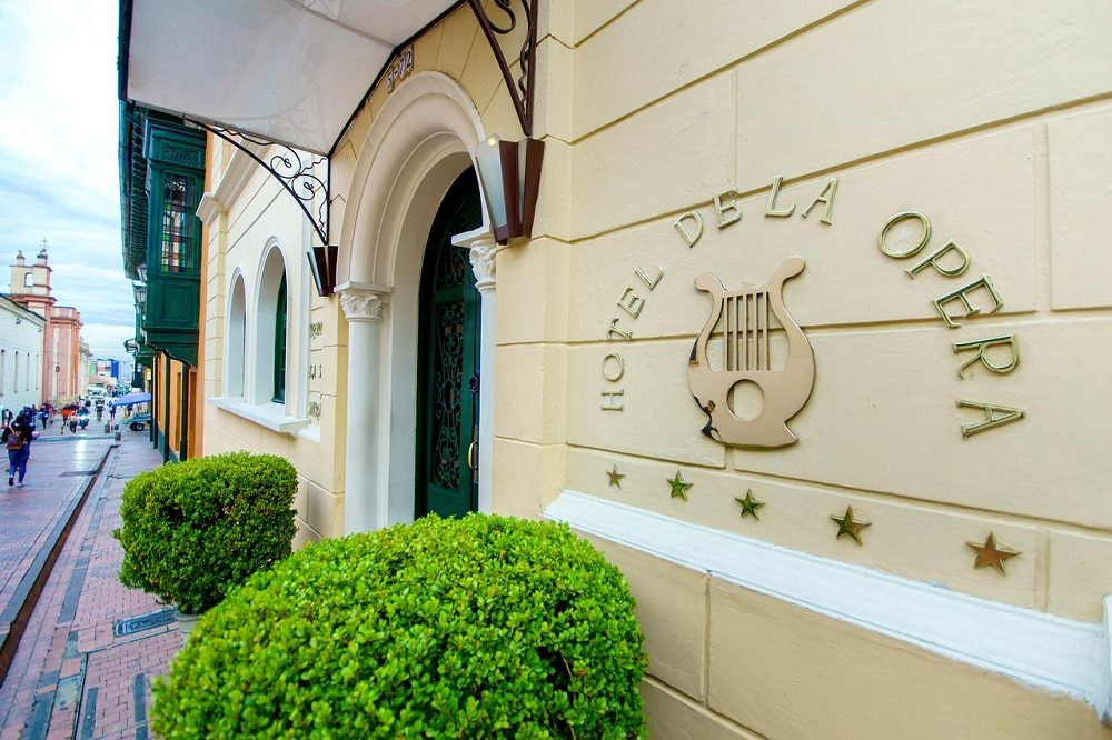 Buitenkant Bogota hotel
