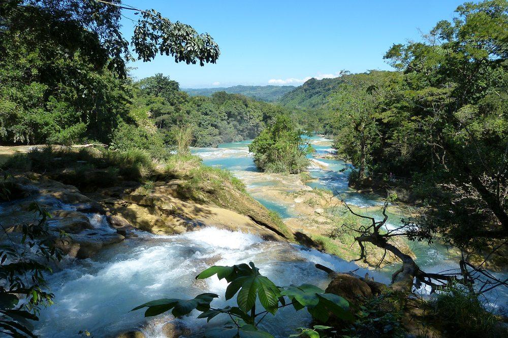 Cascadas Agua Azul rondreis chiapas en oaxaca