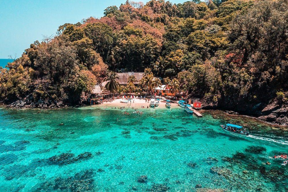 Cayos Cochinos eiland