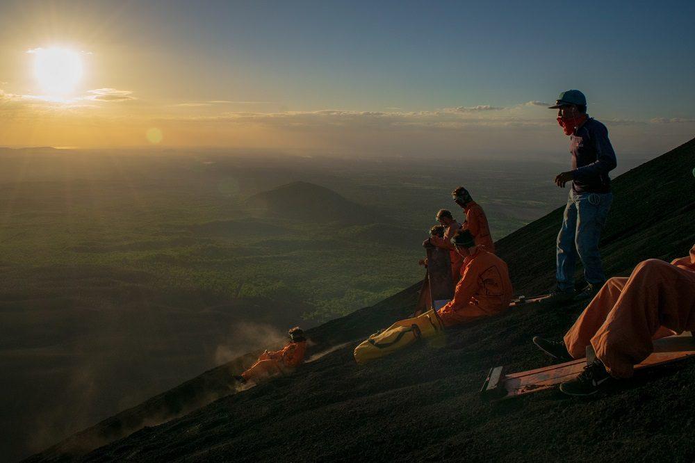 Cerro Negro sandboarden nicaragua