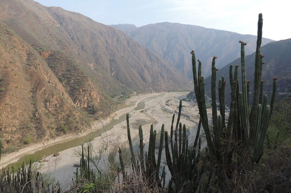 Chicamocha Canyon rondreis colombia