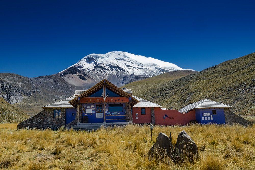 Chimborazo vulkaan ecuador reizen
