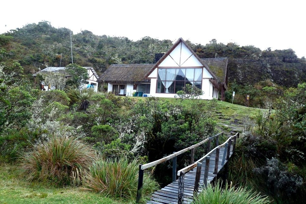 Chingaza Nationaal Park Observatorio de Colibries