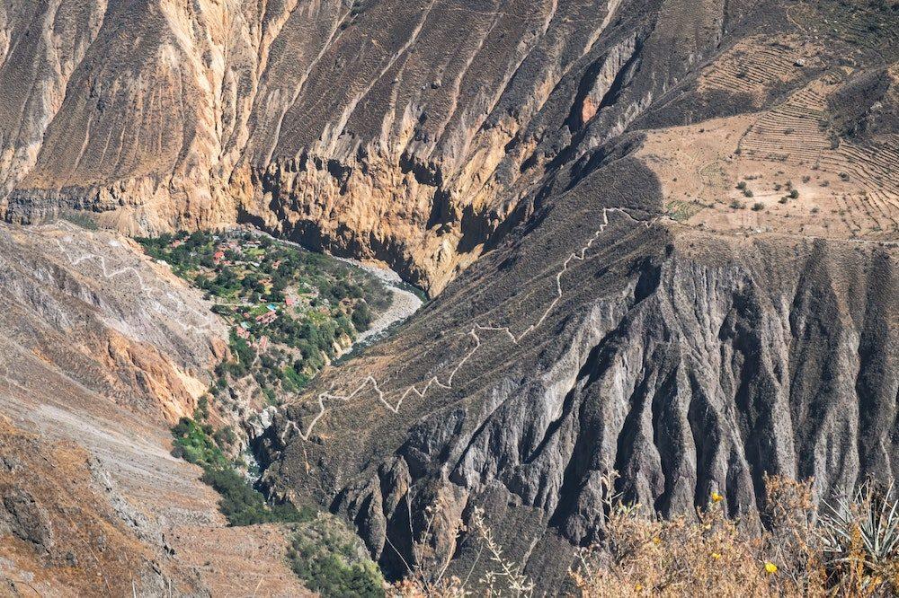 Colca Canyon hoogtepunten reis peru