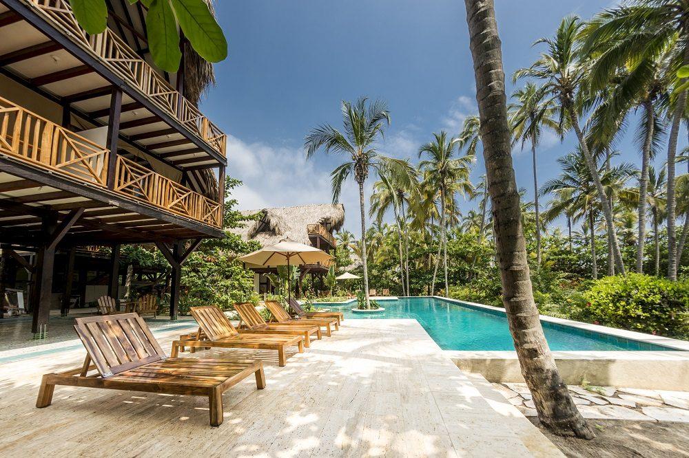Colombia reizen Cayena Beach Villa