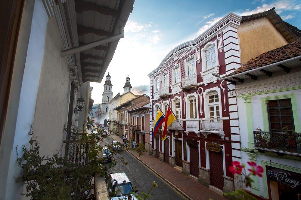 Cuenca historisch centrum
