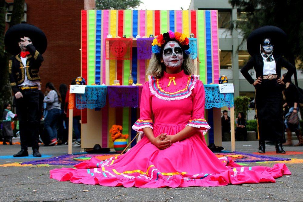 Dia de los Muertos mexico feest