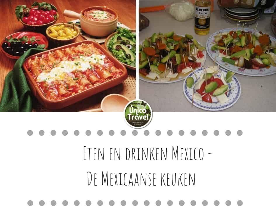 Eten en drinken - de Mexicaanse keuken