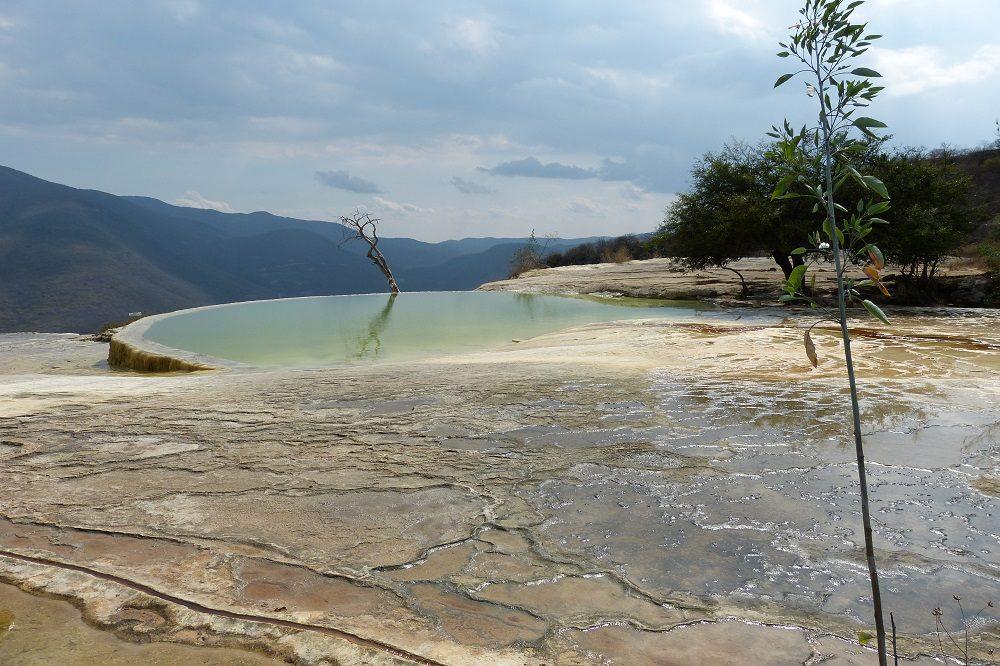 Hierve el Agua uitzicht