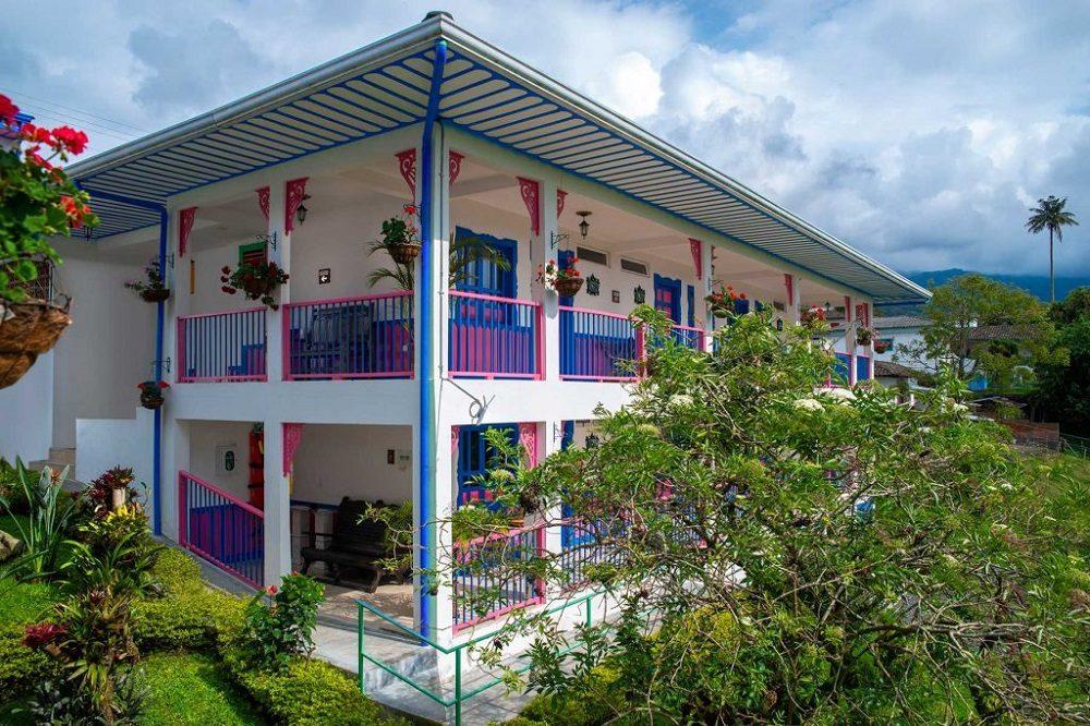 Hotel Salento van buiten