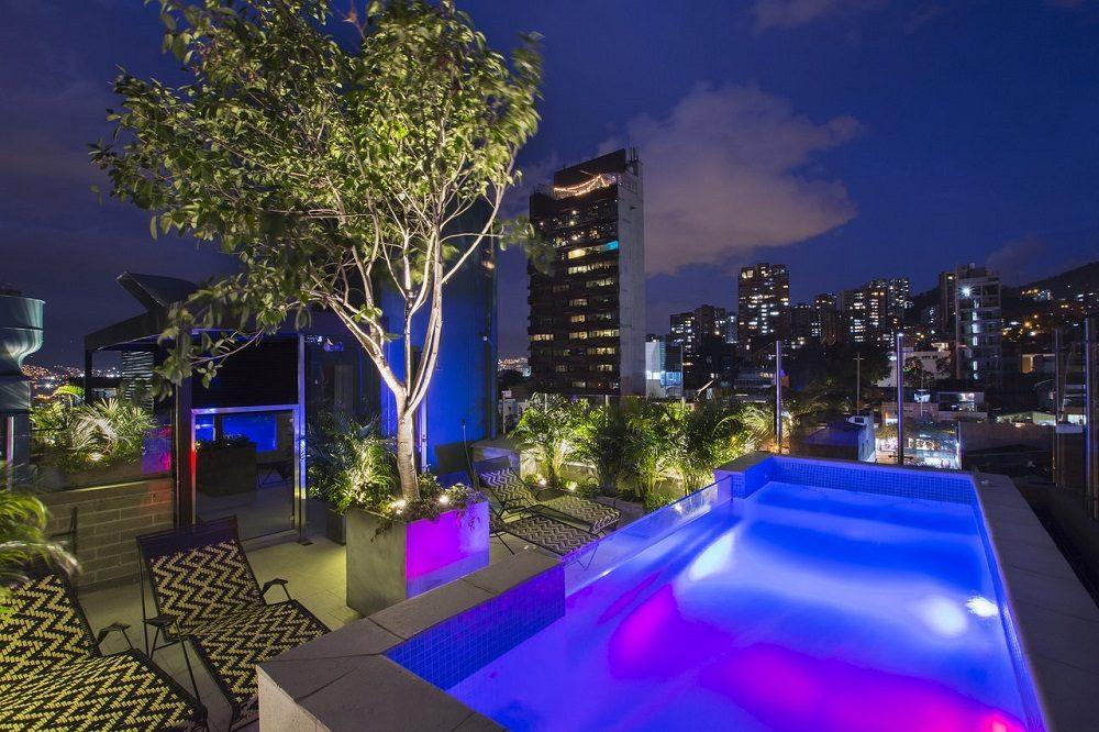 Hotel zwembad Medellin