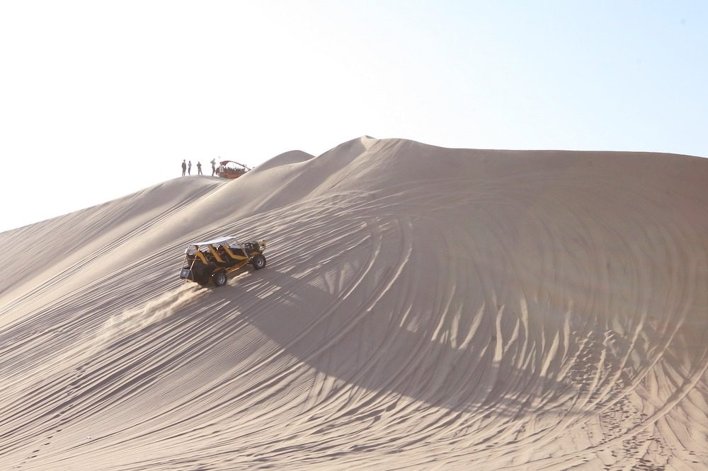 Huacachina buggy tour Peru
