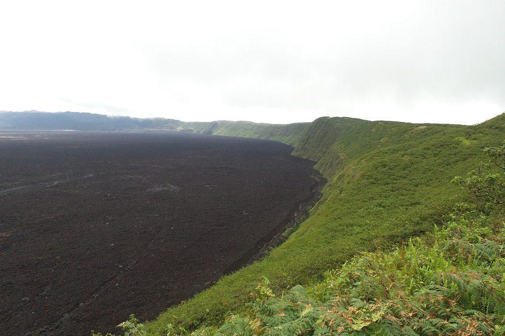 Isabela Sierra Negra Vulkaan