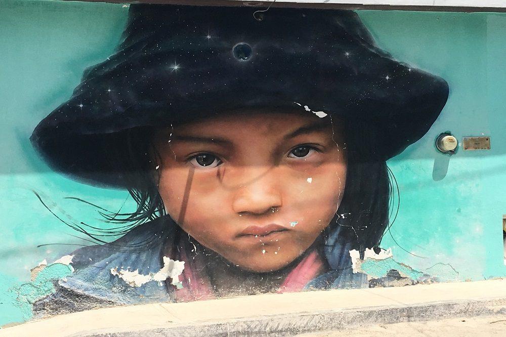 Isla Holbox graffiti