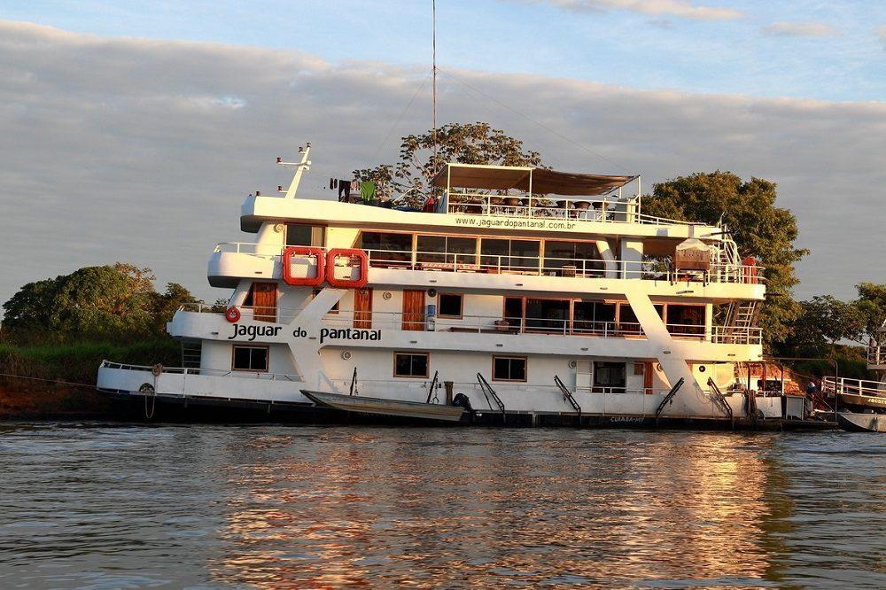 Jaguar do Pantanal Boat