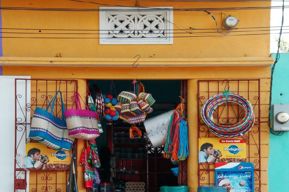 Lokale winkel nicaragua