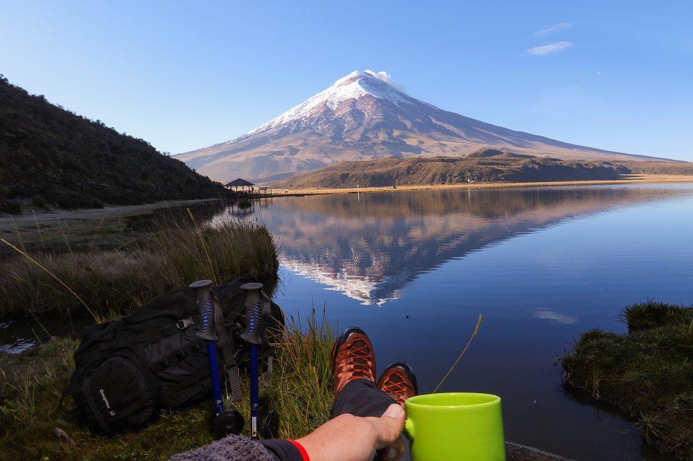 Luxe reis Ecuador Cotopaxi Limpiopungo Lake