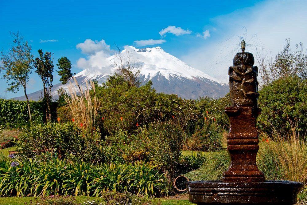 Luxe reis Ecuador Cotopaxi San Agustin de Callo Hacienda