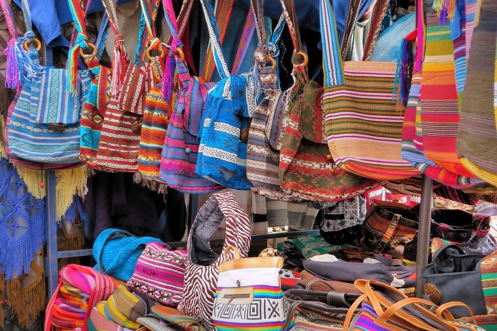 Luxe reis Ecuador Otavalo markt