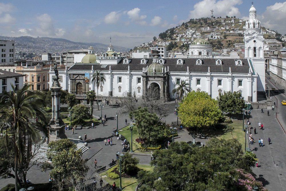 Luxe reis Ecuador Quito onafhankelijkheidsplein