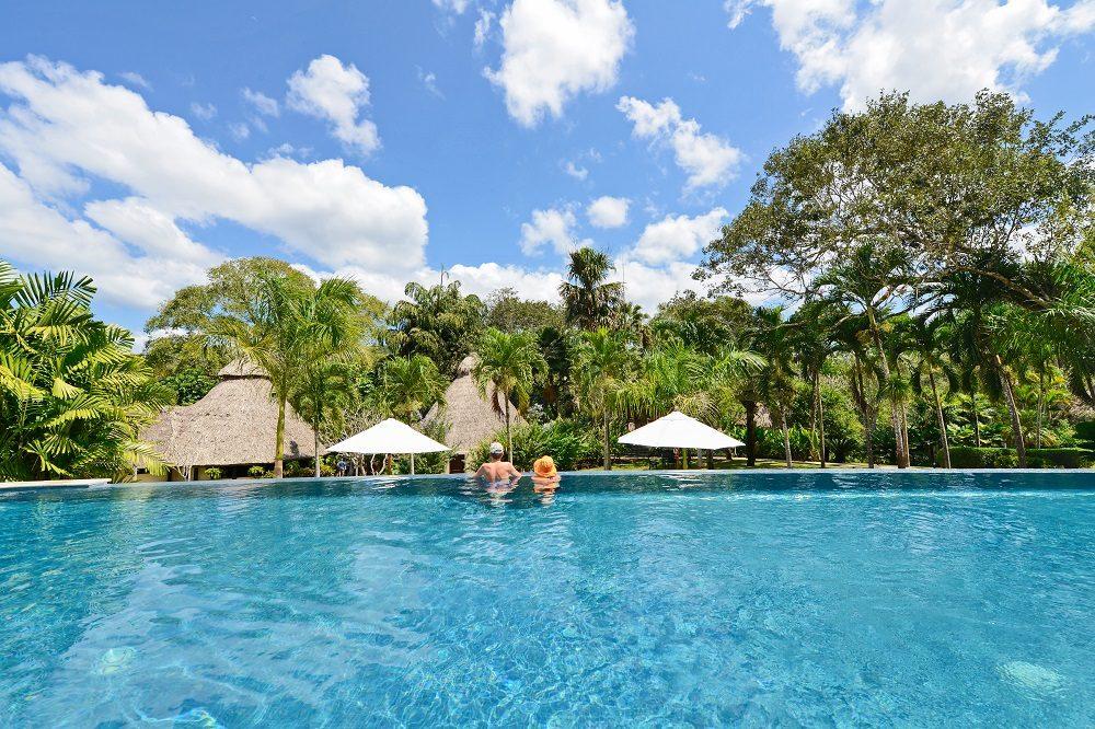 Macal River lodge pool