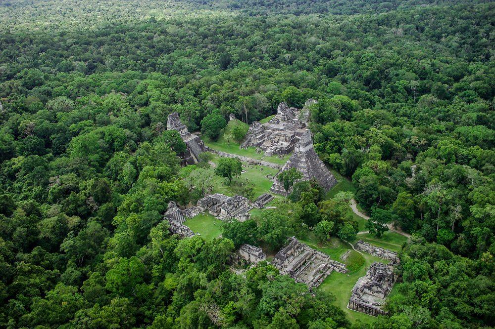 Mayastad Tikal groepsreis midden-amerika